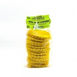 Biscuits Salés au Curcuma