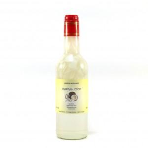 """Liqueur """"Cristal coco"""" à base de rhum 500 ml  20°"""