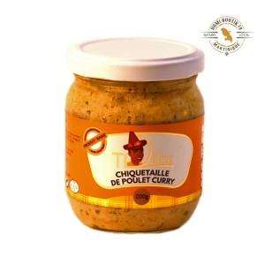 Chiquetaille de poulet au curry Ti'Délice